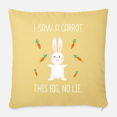 Floppy Ears Bunnies rabbits - Sofa pillow with filling 45cm x 45cm