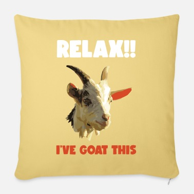 Goat Lovers Goat goat - Sofa pillow with filling 45cm x 45cm