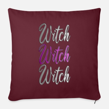 Performance Hexe Witch Pink - Sofa pillow with filling 45cm x 45cm