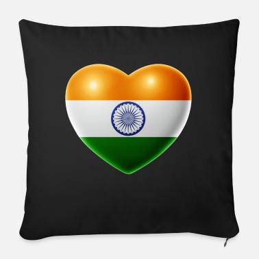 India Heart (India / India) - Sofa pillow with filling 45cm x 45cm
