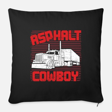 Asphalt Asphalt cowboy - Sofa pillow with filling 45cm x 45cm