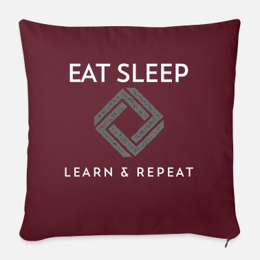 Mindset Determined - Design - Learning & Growing - T-Shirts - Sofa pillow with filling 45cm x 45cm