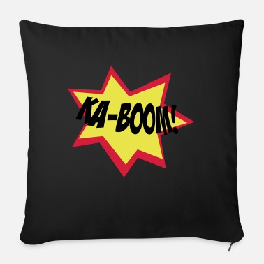 Kaboom kaboom - Sofa pillow with filling 45cm x 45cm