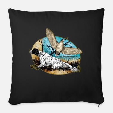 Woodcock setter woodcock 2015 - Sofa pillow with filling 45cm x 45cm