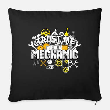 Mechanic mechanic - Sofa pillow with filling 45cm x 45cm