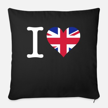Windsorcastle I Love The United Kingdom - Sofa pillow with filling 45cm x 45cm