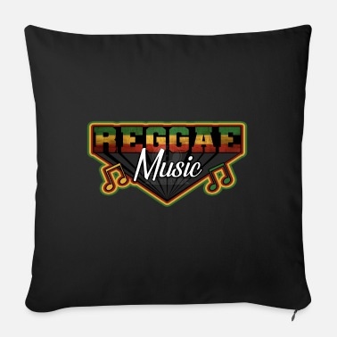 Marley REGGAE MUSIC, MARLEY, RASTAFARI, JAMAIKA - Sofa pillow with filling 45cm x 45cm