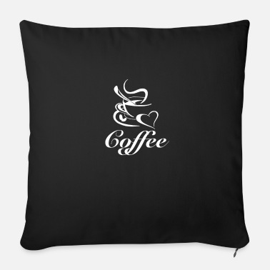 Grumpy In The Morning Coffee love love coffee gift - Sofa pillow with filling 45cm x 45cm
