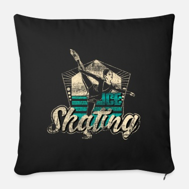 Skill Figure skating sport ice skates gift idea - Sofa pillow with filling 45cm x 45cm