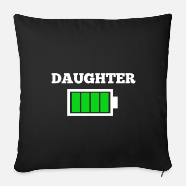 Daughter DAUGHTER - Sofa pillow with filling 45cm x 45cm