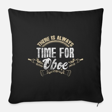 Medieval Oboe musician gift idea - Sofa pillow with filling 45cm x 45cm
