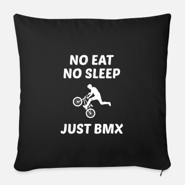 Competition BMX Bicycle Bike Motocross Racing Rider Stunt Gift - Sofa pillow with filling 45cm x 45cm