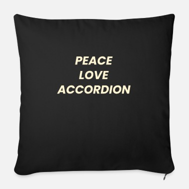 Concert Accordion Polka Music Musician Musical Instrument - Sofa pillow with filling 45cm x 45cm