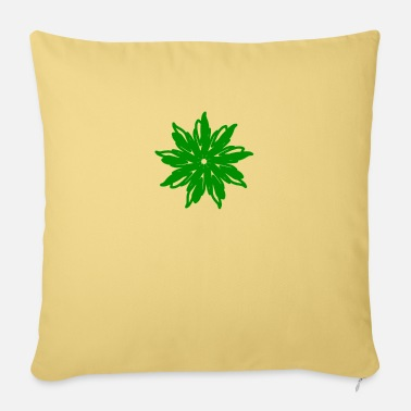 The Green the green star - Sofa pillow with filling 45cm x 45cm