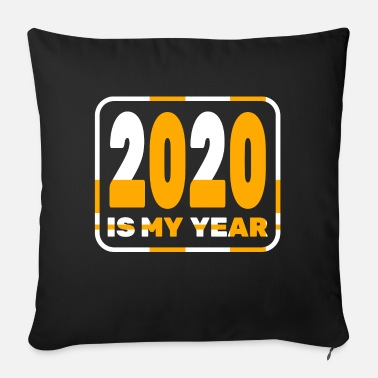 January Happy New Year 2020 January 1st Fireworks Merry - Sofa pillow with filling 45cm x 45cm