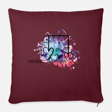 Music Lover MUSIC LOVER music lover music lover - Sofa pillow with filling 45cm x 45cm