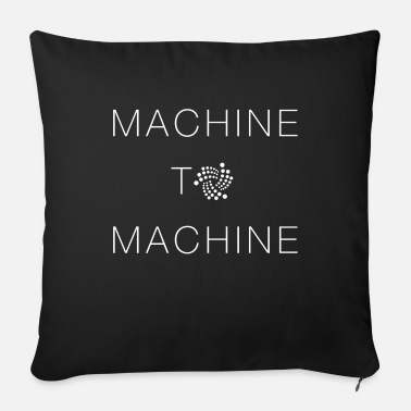 Machine IOTA machine to machine - Sofa pillow with filling 45cm x 45cm