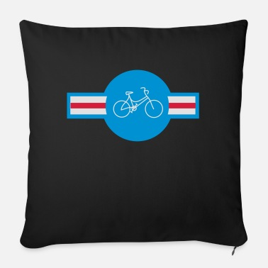 Bike America - Sofa pillow with filling 45cm x 45cm