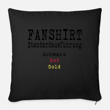 Schland Football Fan Shirt Germany Schland EM - Sofa pillow with filling 45cm x 45cm