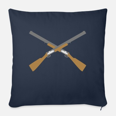 Shotgun Shotguns - Sofa pillow with filling 45cm x 45cm