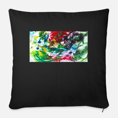 Untitled 07 - Sofa pillow with filling 45cm x 45cm