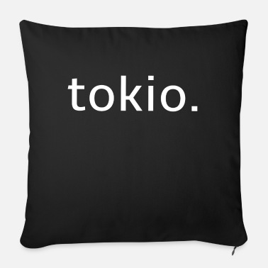 tokio white - Japan - Holidays - Style - Sofa pillow with filling 45cm x 45cm