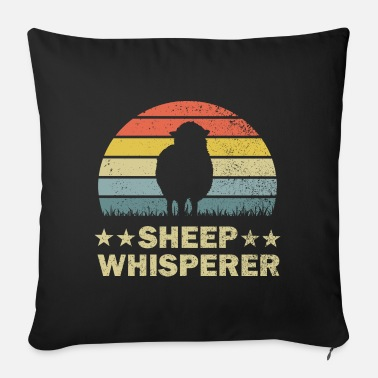 Sheep Sheep sheep - Sofa pillow with filling 45cm x 45cm