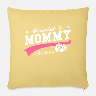 New Promoted to mom 2018 - Sofa pillow with filling 45cm x 45cm