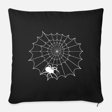 Net Net with spider - Sofa pillow with filling 45cm x 45cm