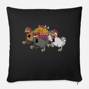 Funeral Chicken funeral - Sofa pillow with filling 45cm x 45cm