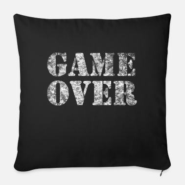 Game Over GAME OVER - Sofa pillow with filling 45cm x 45cm