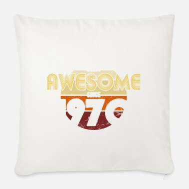 1970 1970 vintage 50 year birthday gift - Sofa pillow with filling 45cm x 45cm
