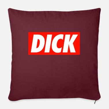 Dick Dick - Sofa pillow with filling 45cm x 45cm