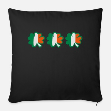 Calm Underwear ♥ټ☘Kiss the Irish Shamrocks to Get Lucky☘ټ♥ - Sofa pillow with filling 45cm x 45cm