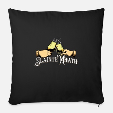 Slainte Mhath - Single Malt Whisky Fan Shirt - Cuscino da divano 44 x 44 cm con riempimento