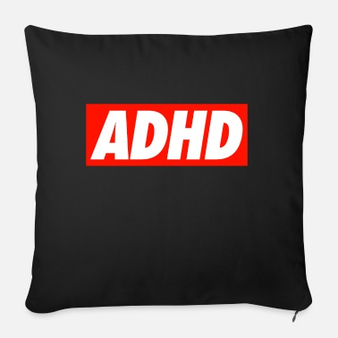 Adhd ADHD - Sofa pillow with filling 45cm x 45cm