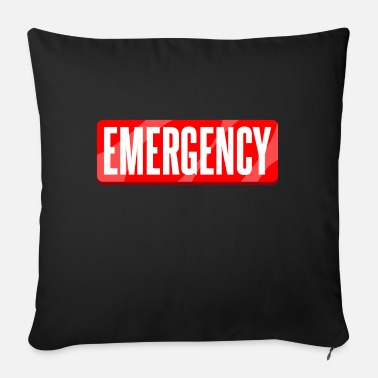 Emergency emergency - Sofa pillow with filling 45cm x 45cm