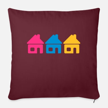 Neighborhood Neighborhood - Sofa pillow with filling 45cm x 45cm