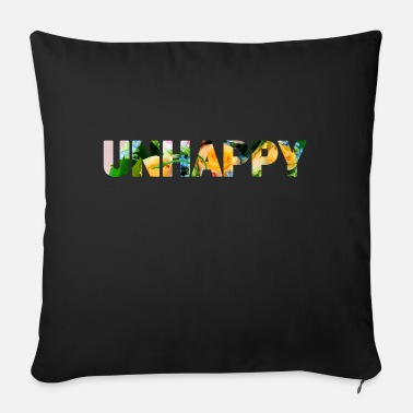 Unhappy Unhappy - Sofa pillow with filling 45cm x 45cm