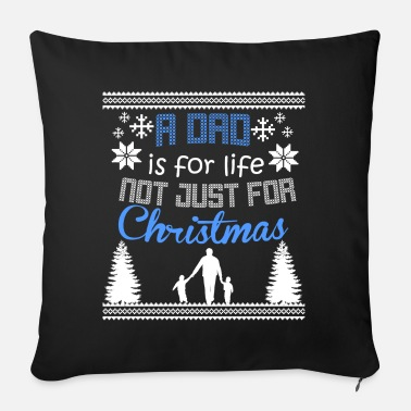 Christmas DAD CHRISTMAS 2 Ugly Design - Sofa pillow with filling 45cm x 45cm