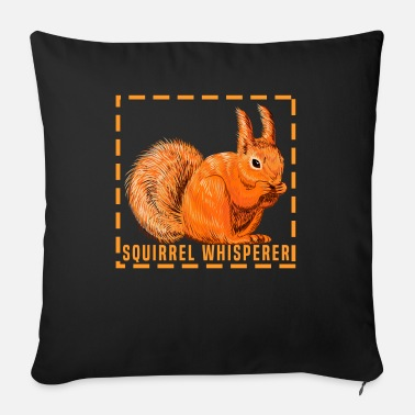 Art Squirrel Whisperer - Sofa pillow with filling 45cm x 45cm