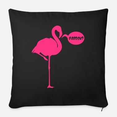 Pardon FLAMINGO PARDON - Sofa pillow with filling 45cm x 45cm