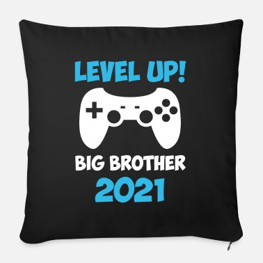 Big Level Up Big Brother 2021 Gaming Video Game - Sofa pillow with filling 45cm x 45cm