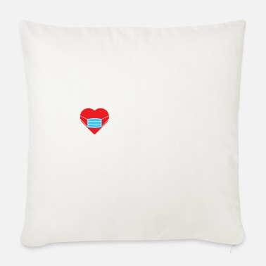 Valentine's Day Valentine Quarantine Gift Him Her Still Love You - Sofa pillow with filling 45cm x 45cm