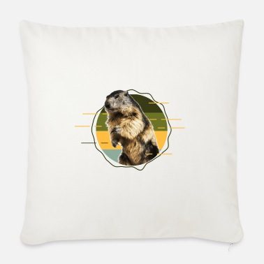 Phil Groundhog Day, respect for the groundhog - Sofa pillow with filling 45cm x 45cm