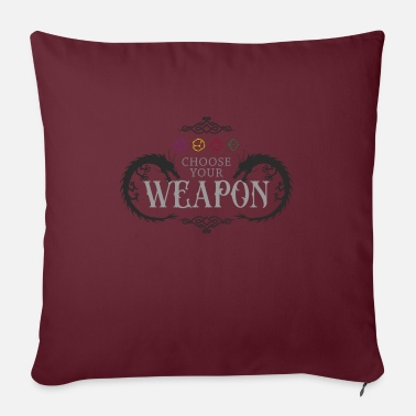 Dungeons And Dragons Dungeons and Dragons, dragons, dungeons - Sofa pillow with filling 45cm x 45cm