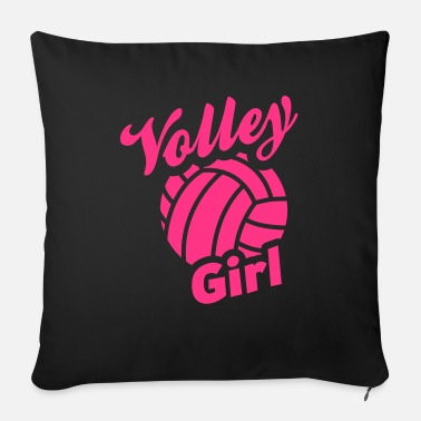 Volley volley girl - Sofa pillow with filling 45cm x 45cm
