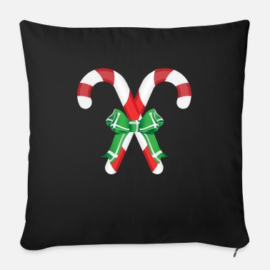 Candy Canes candy Cane - Sofa pillow with filling 45cm x 45cm
