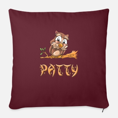 Patty Owl patty - Sofa pillow with filling 45cm x 45cm