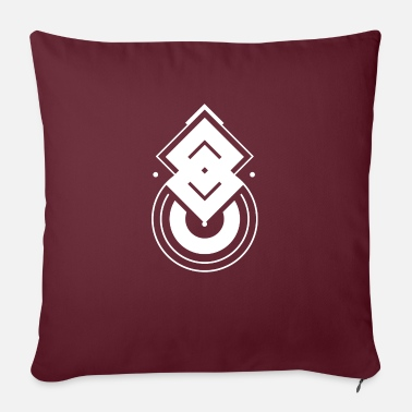 Abstract Abstract symbol - Sofa pillow with filling 45cm x 45cm